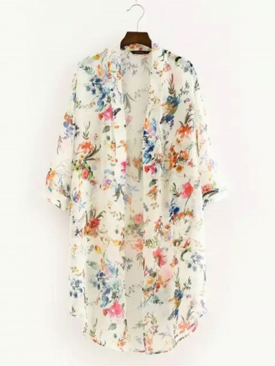 long-sleeve-floral-print-cardigan-maxi-dresses