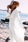 flowy-deep-v-drawstring-empire-waist-maxi-cover-up