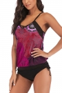 plus-size-printed-drawstring-side-tankini-set