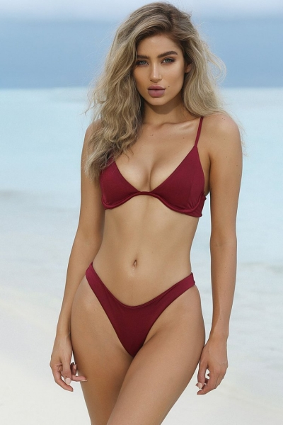 underwire-high-leg-thong-triangle-bikini-swimsuit-two-piece-set