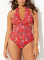 gardenia-cut-out-v-neck-halter-one-piece-swimsuit