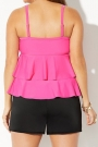 fuchsia-tiered-tankini-with-banded-short